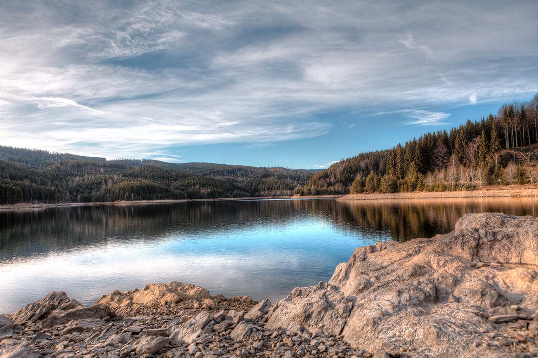 HDR Stausee